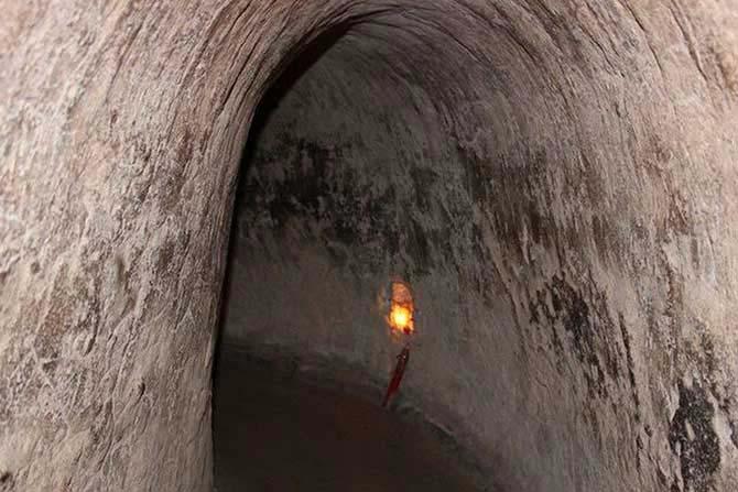 Cu Chi Tunnel Half Day
