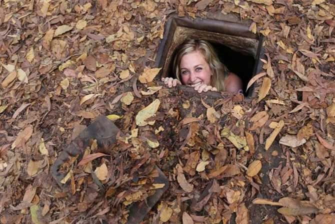 Cu Chi Tunnel Half Day