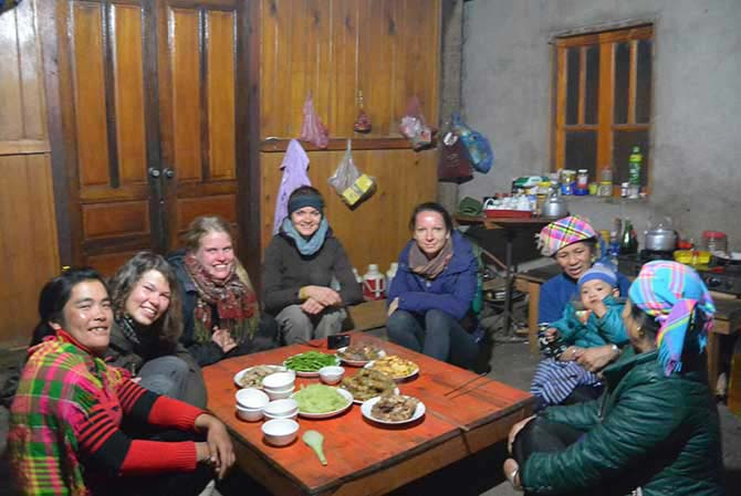Sapa Trekking 2D1N - Overnight at Homestay