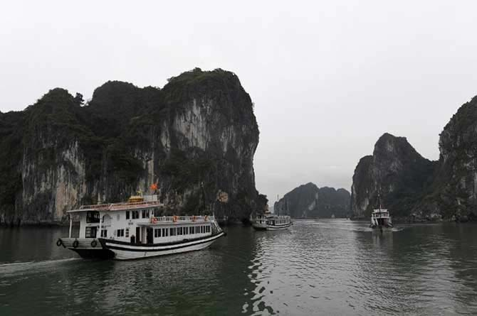 Ha Long Bay, Vietnam named in top 15 most Instagrammed global cruise destinations