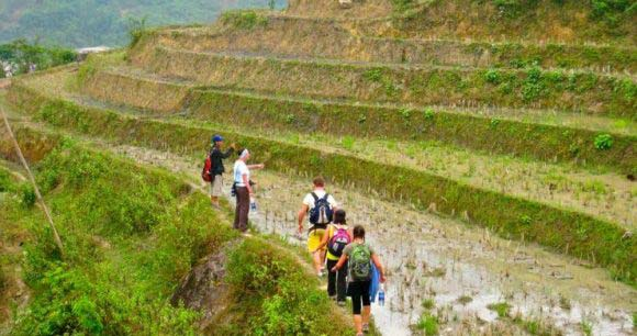 Sapa Trekking 3 days 2 nights – Overnight at Homestay