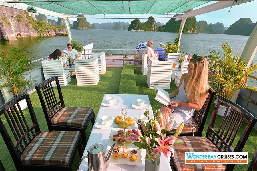 Halong Bay Luxury 1 Day Tour - Wonder Bay Cruise