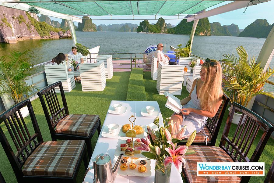 Halong Bay Luxury 1 Day Tour - Wonder Bay Cruise
