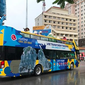 Ha Long to launch open-top tour buses – Halong city tour