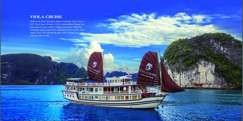 Bai Tu Long Bay Cruise - Viola Cruise