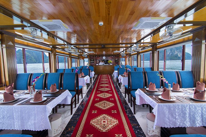 Alova Premium Cruise | Halong Bay 1 Day Tour | Old Quarter Travel